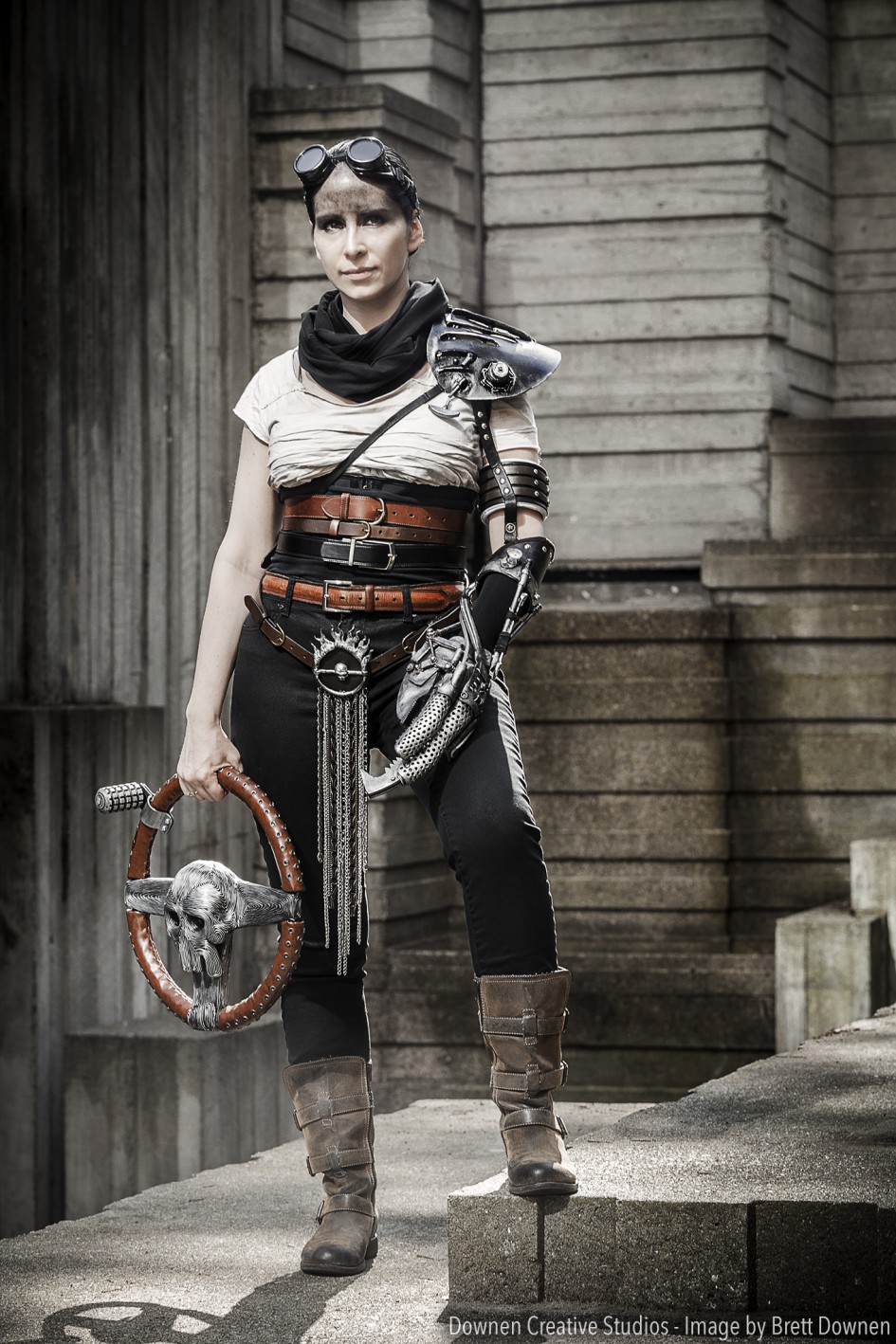 Imperator Furiosa from Mad Max Cosplay Costume